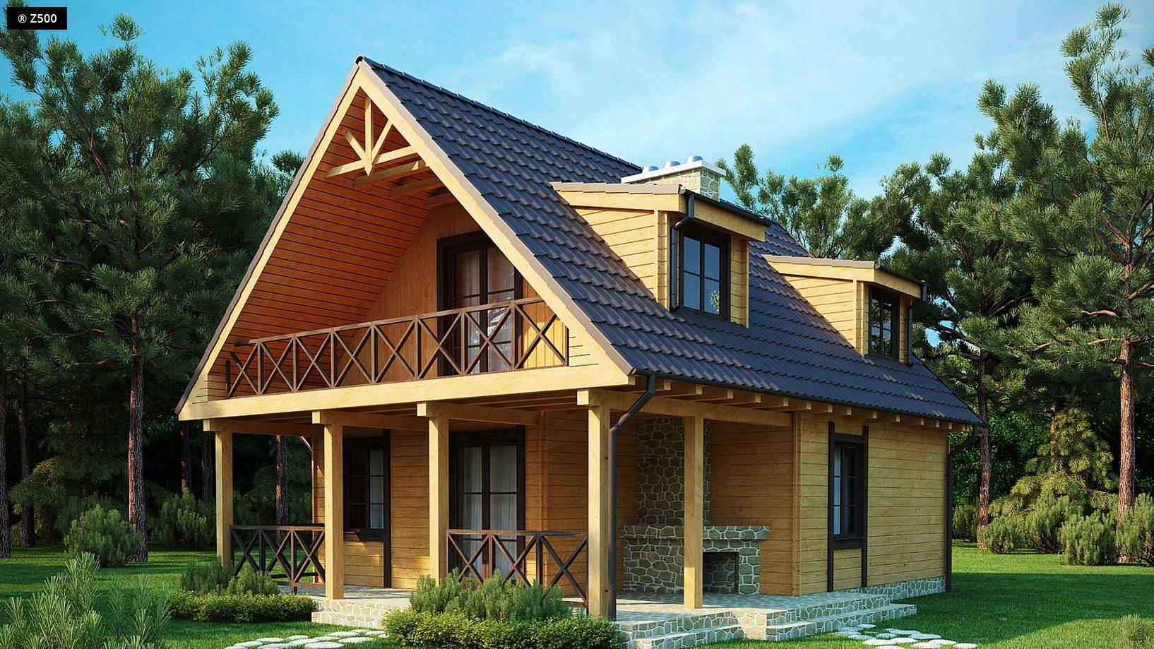 Интерьер мансарды в деревянном доме мансарды - жизнь под кры.